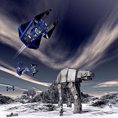 Lego_4886 (ErnestoCarrillo70) Tags: starwars 3d lego render cinema4d virtual