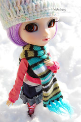Cold out (Yukihana~) Tags: snow outside jp cecily pullip obitsu junplanning celsiy