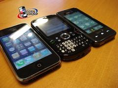 iPhone Treo Pro Samsung Instinct
