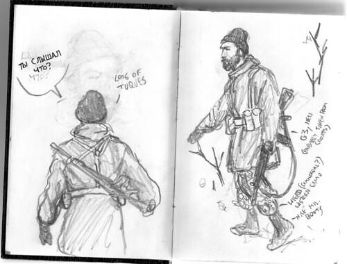 pervii kontakt sketch1