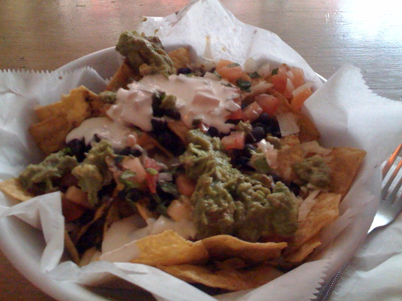 Nachos at Buffalo Cantina