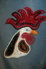 embroidery: wakeup2 (Shosh62) Tags: art hand embroidery handsewn