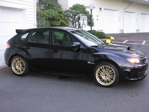 Anyone Has Pics Of Black Gr Sti With Gold Bbs Page 2