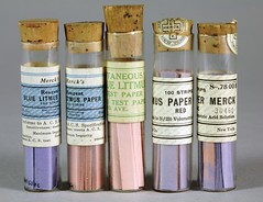 Litmus paper, 1934, Merck Corporation (Chemical Heritage Foundation) Tags: 1930s acid science chemistry 20thcentury litmus historyofscience merck