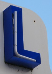 L (urbanmkr) Tags: blue neon bleu l oneletter arcachon néon aquitaine urbanmkr