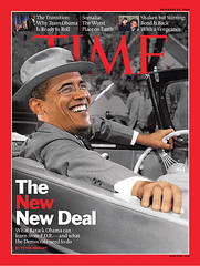 TIME - The NEW New Deal (dmrcscott) Tags: magazine time president cover democrat obama fdr timemagazine