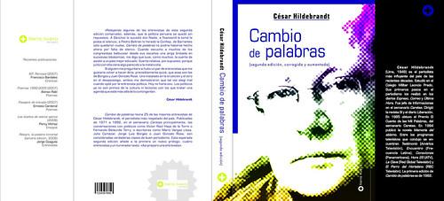 """Cambio de palabras"""", libro de César Hildebrandt"""