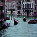 Gondolas and Taxis in Venice