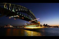 Sydney Harbor Bridge (panoramaXL) Tags: lumix sydney australia lunapark operahouse 169 harborbridge lx3