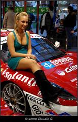 dsc (claudio g) Tags: girl car donna nikon italia ferrari bologna donne bella 2008 motorshow ragazza sexi ragazze d80 claudiogalliano