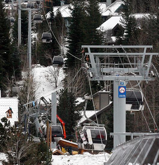 Blackcomb Gondola Collapse