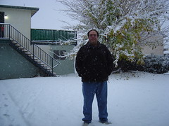 Idiot (me) in the snow