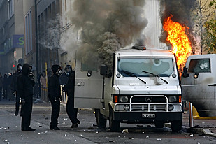 Youth and workers rebellion continues in Greece. The capitalist economic crisis and police repression is at the root cause of the uprising. by Pan-African News Wire File Photos