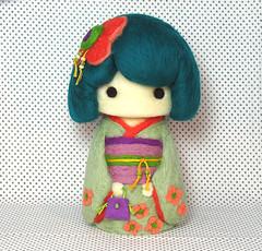 Kimono Cutie Girl by YuYuArt