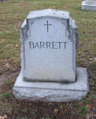 dead Barrett was here