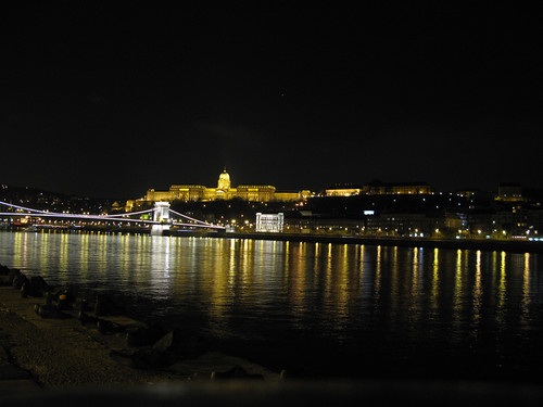 The Danube at Night
