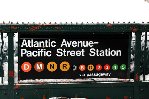 Atlantic-Pacific Station in Brooklyn. Photo by forklift