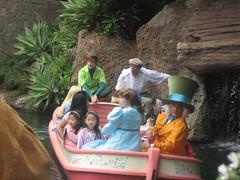 IMG_0362 (dlaurora1955) Tags: alice disneyland group peterpan characters wendy hatter storybookland