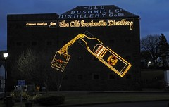 Seasons Greetings from The 'Old Bushmills' Distillery (Strabanephotos) Tags: county ireland black river bush whiskey worlds whisky distillery oldest bushmills ulster antrim licensed oldbushmills