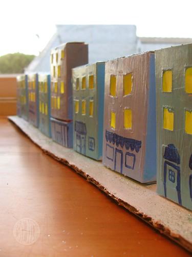 Little Hanukkah Village craft