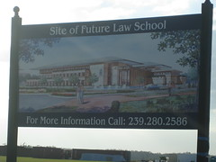 Future site of law school