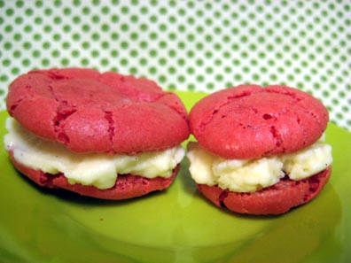 Egg Nog Ice Cream Sandwiches