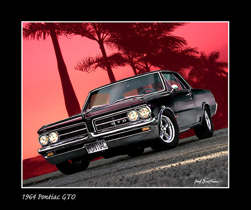 1964 Pontiac GTO (by MidnightOil1)
