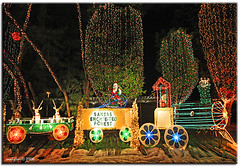 santa's enchanted forest (iCamPix.Net) Tags: santa train iso3200 rainbow explore christmasdecorations rides fav favourite mostviewed cs4 gameshows largestchristmastree santasenchantedforest santastrain lightdecorations mostwatched cannoneos1dsmarkiii canonef1635mmf28liiusmzoom icampixtechnologyleveli rainbowwalkway largestchristmasthemepark