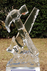 Lititz Fire and Ice 2009- 1 (KathyCat102) Tags: sculpture ice icesculpture lititz lititzpa fireandice