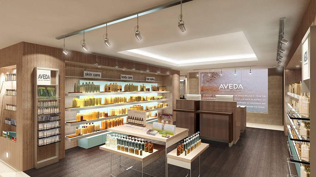 The Palms Hotel & Spa - Aveda Retail Area