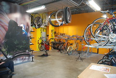 LB Bike Station Repair Shop Interior