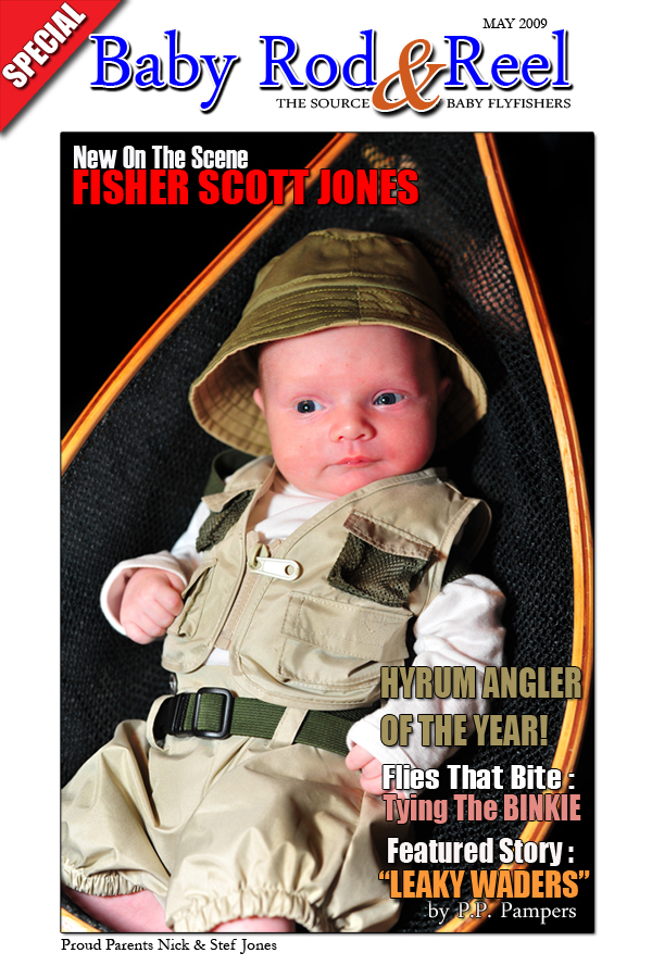 Baby Announcement - Fisher Scott Jones