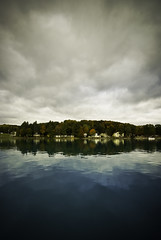 Southwest Torch Lake ((  Jennifer  )) Tags: autumn fall boating torchlake lastofseason