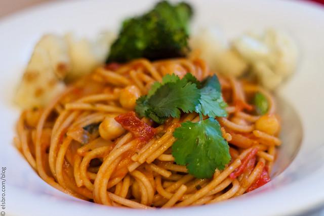 Chickpea Pasta - Dinner