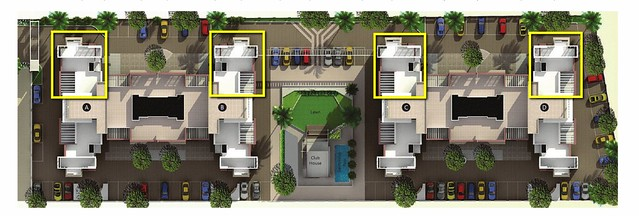 Position of 3 BHK Flats in A, B, C, D Buildings of Reelicon Alpine Ridge Pancard Club Baner Pune