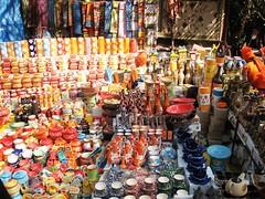 Colorful Rustic Pottery, New Delhi - Courtesy farm4.static.flickr.com