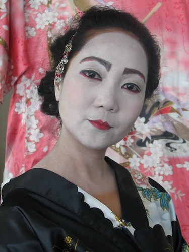japanese geisha makeup. Studio quality kit contains washable makeup pictures would Maiko as