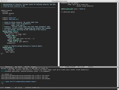 i-scheme-emacs