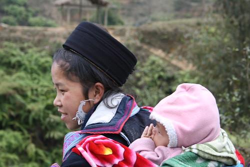 Ninya con hijo