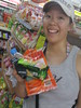 Buying snacks at 7-11!  (Looks lik…