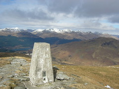 Trig point on Doune Hill