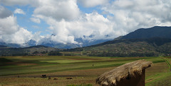 Out Over the Highlands (icelight) Tags: mountains peru cuzco clouds landscape highlands cusco farming andes