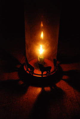 earth hour candlelight