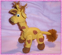 Giraffe Corry (Ruby's World) Tags: brown yellow crochet giraffe amigurumi