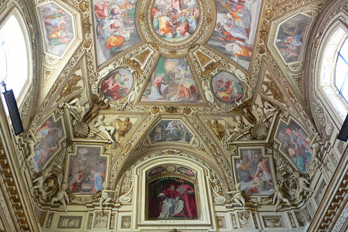 The delightful church of Santa Maria in Trastevere, in Rome