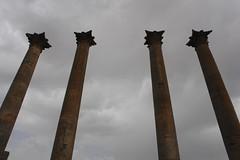 Columns at Bosra (CharlesFred) Tags: peace syria hospitality siria honour  syrien syrie bosra suriye  syrianarabrepublic    bosrasham shoufsyria    welovesyria aljumhriyyahalarabiyyahassriyyah siri