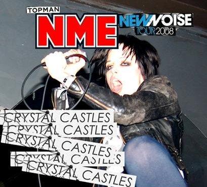 Crystal Castles cabeças de cartaz da digressão New Noise do NME