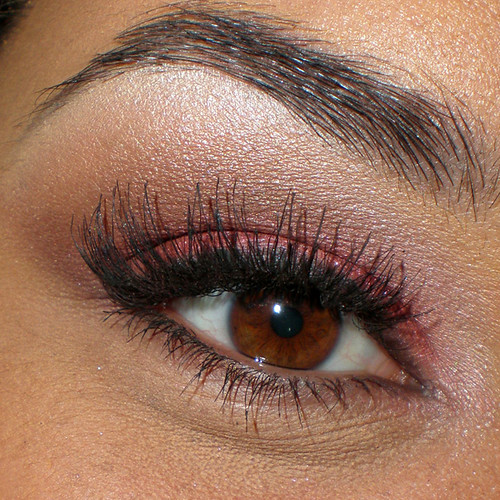 Pink eyeshadow eyelash ideas makeup pictures gallery