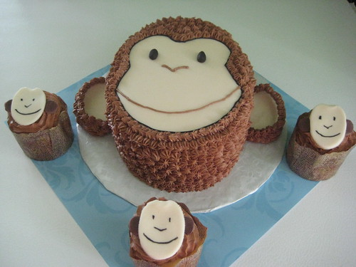 Monkey Face Cupcakes Monkey Cupcakes And Face