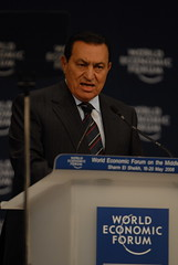 Hosni Mubarak - World Economic Forum on the Mi...